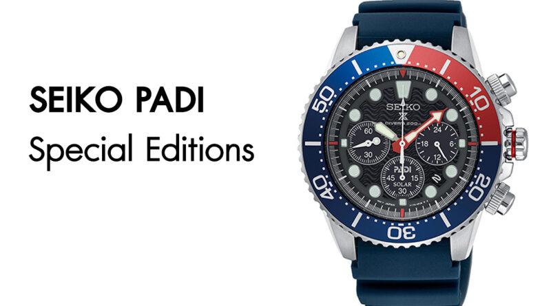 นาฬิกา SEIKO PADI Special Editions