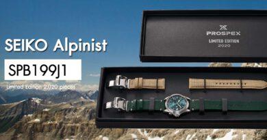 SPB199J1 Seiko Alpinist Limited Edition 2020