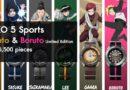 Seiko 5 Sports x Naruto and Boruto Limited Edition Only 6500 pieces